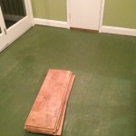 Before - Green Floor