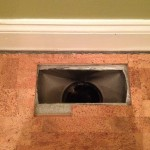 Floor Vent with Gap